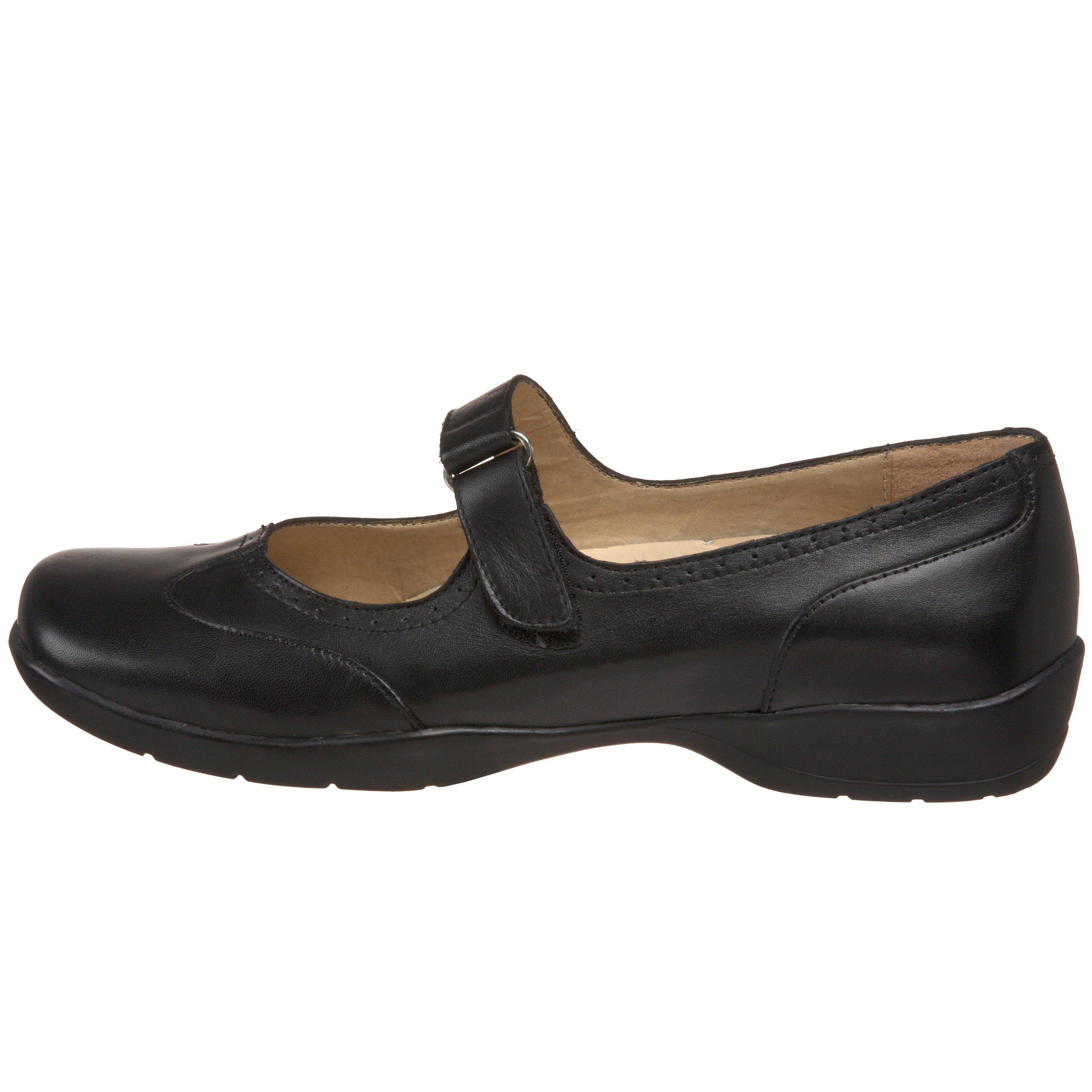 Drew Shoe Women's Isabel Mary Jane,Black Leather,6 W US by Drew Shoe (Image #5)