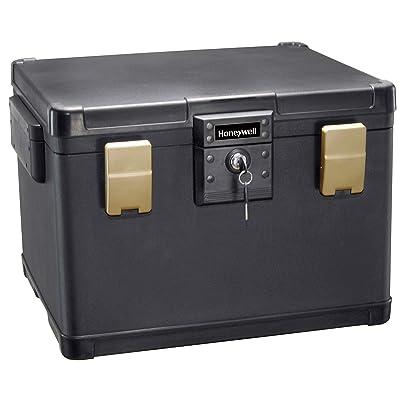 Honeywell Safes & Door Locks 1112 Honeywell Safe Box, Black: Home Improvement