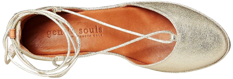 cf5503605d9a Gentle Souls Women s Nerissa Low Wedge Pump with Ankle Lace- Nub Size 7 M US