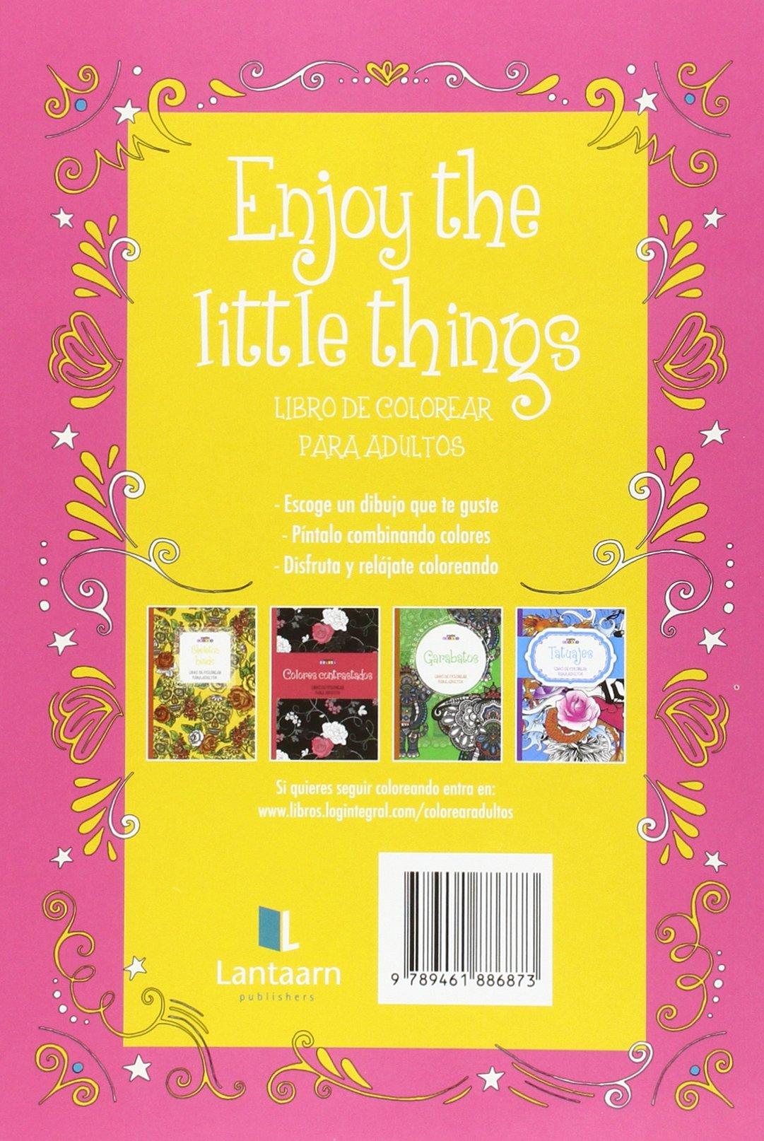 Enjoy Little Things. Colorear Para Adultos: Amazon.es: Vv.Aa.: Libros