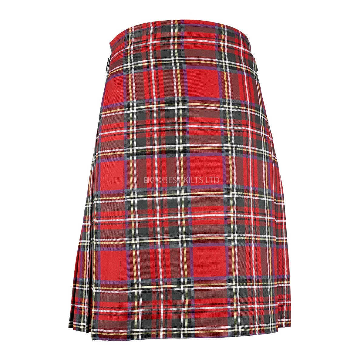 "Best Kilts Men's Scottish 5 Yard Party Kilt Royal Stewart 42""-44"" by Best Kilts (Image #2)"