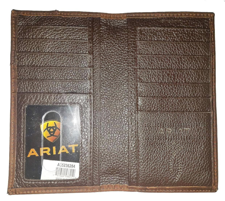 Custom Praying Cowboy Church Ariat Bonz long wallet