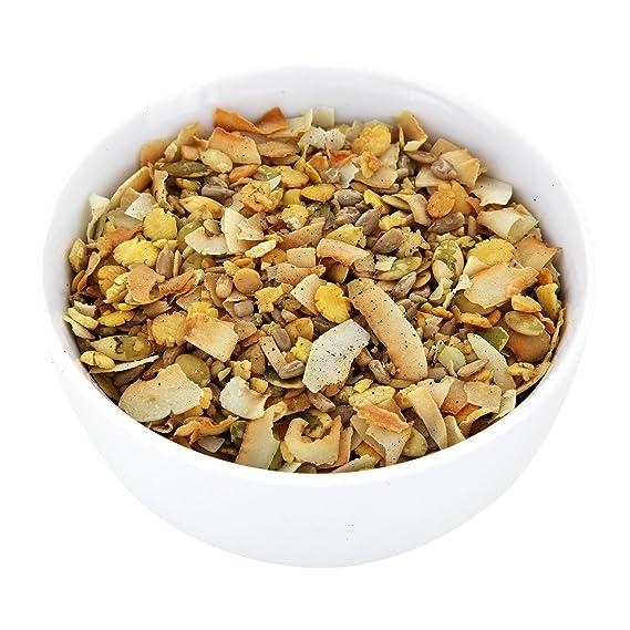 Muesli low carb di CarbZone   Muesli di cereali al cocco e fragola   Snack senza glutine e bio - 500 g: Amazon.es: Alimentación y bebidas