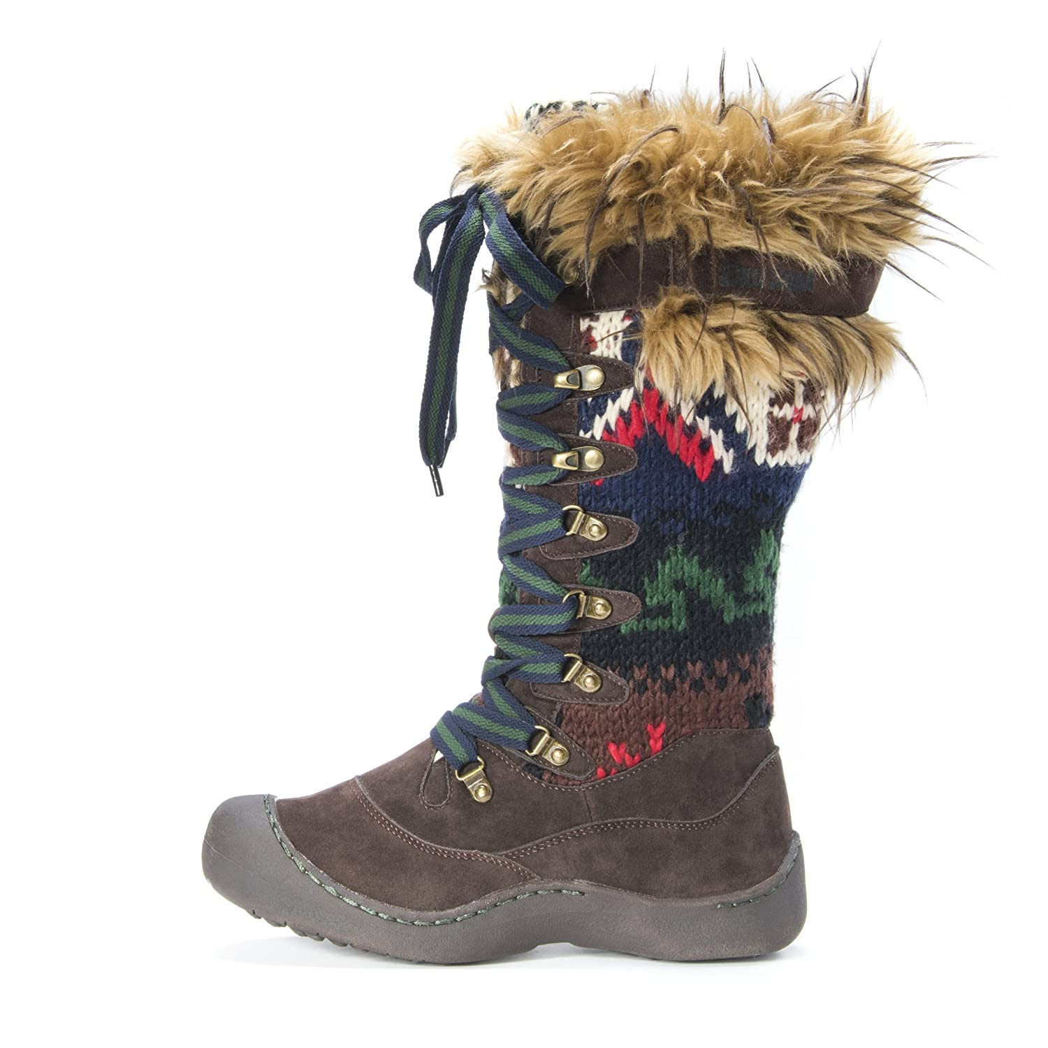 MUK LUKS 6 Women's Gwen Snow Boot B01K8VY3E4 6 LUKS B(M) US|Dark Brown 3deb8b