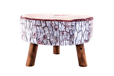 Dorte hogar sgabello con gambe di legno supremo bambino pouf