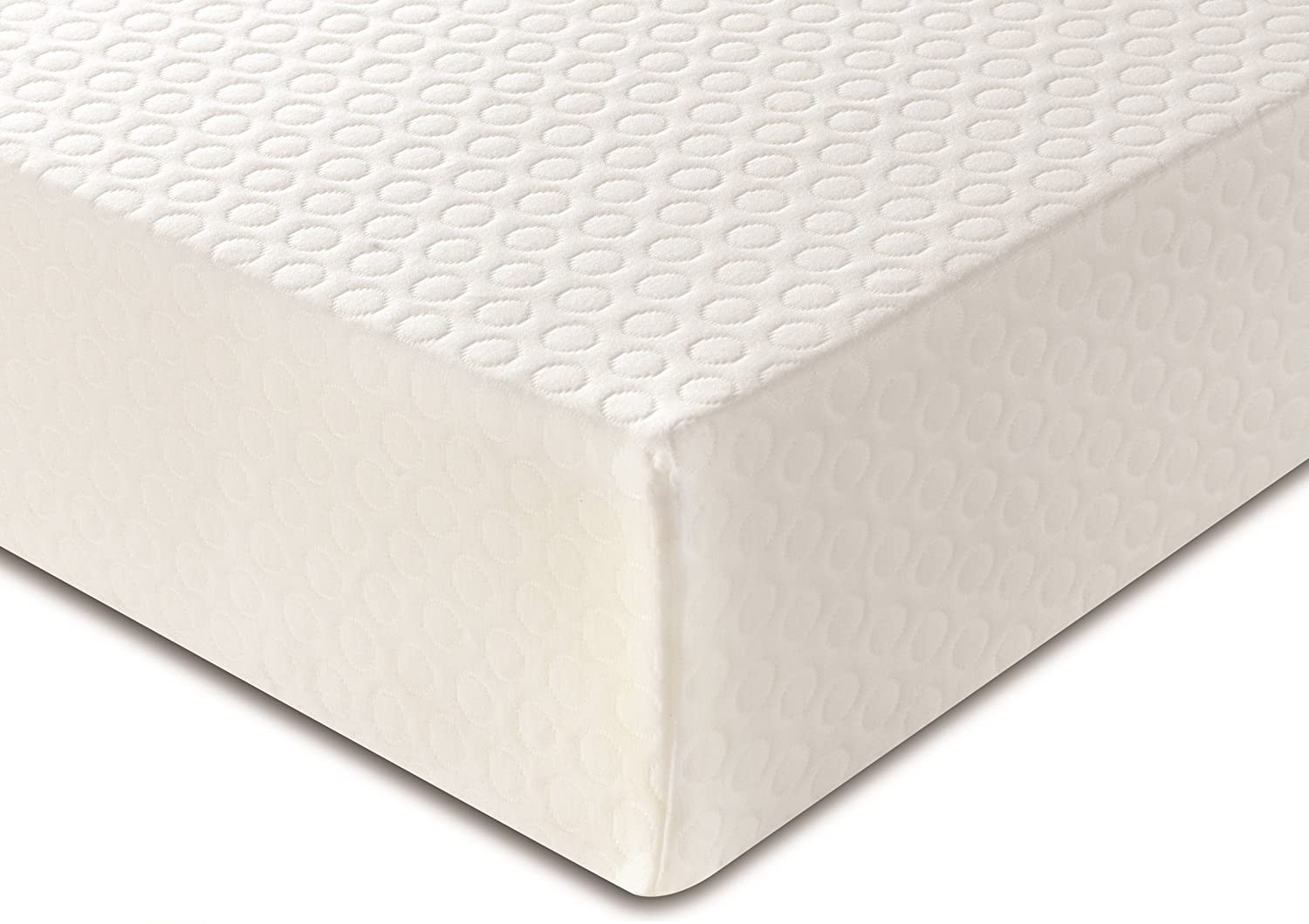 DuraTribe Golden Sleep Smart Memory Foam Mattress with Washable Zip-off Cover - Available in all Standard and European sizes - FIRA Approved (Single (90 cm x 190 cm))