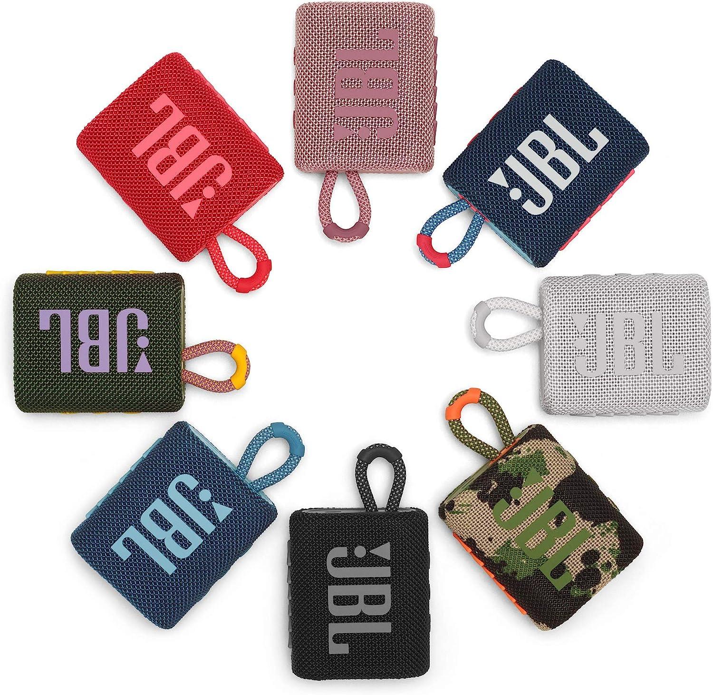 JBL GO 3 – Enceinte Bluetooth portable et légère