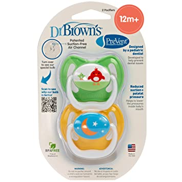 Amazon.com: Dr. Brown s evitar diseño chupete, neutro ...