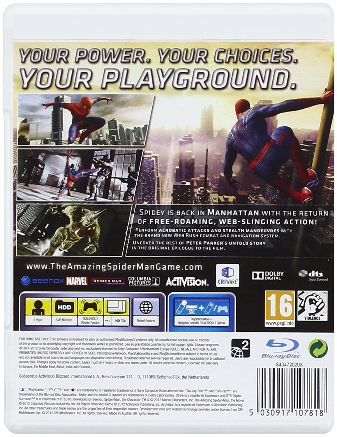 the amazing spider man ps3 amazon co uk pc u0026 video games
