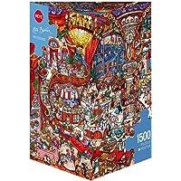Heye 1500 Parça Üçgen Kutu Pastane Karikatür Puzzle