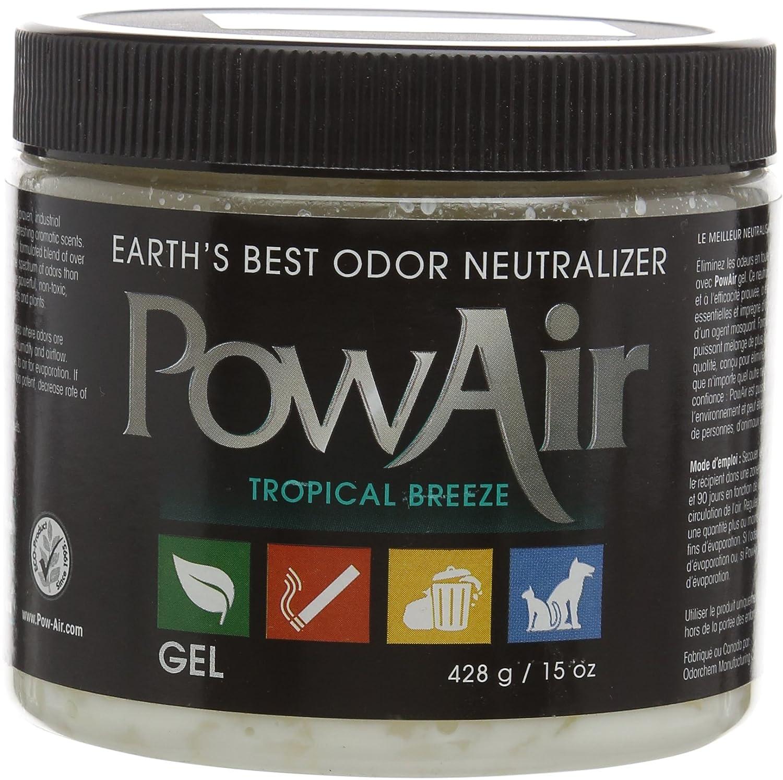 Amazon: Earth's Best Odor Neutralizer Powair Tropical Breeze Gel: Home  & Kitchen