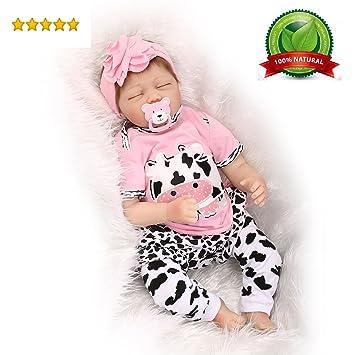Amazon.com: Muñeca bebé niña vinilo 22