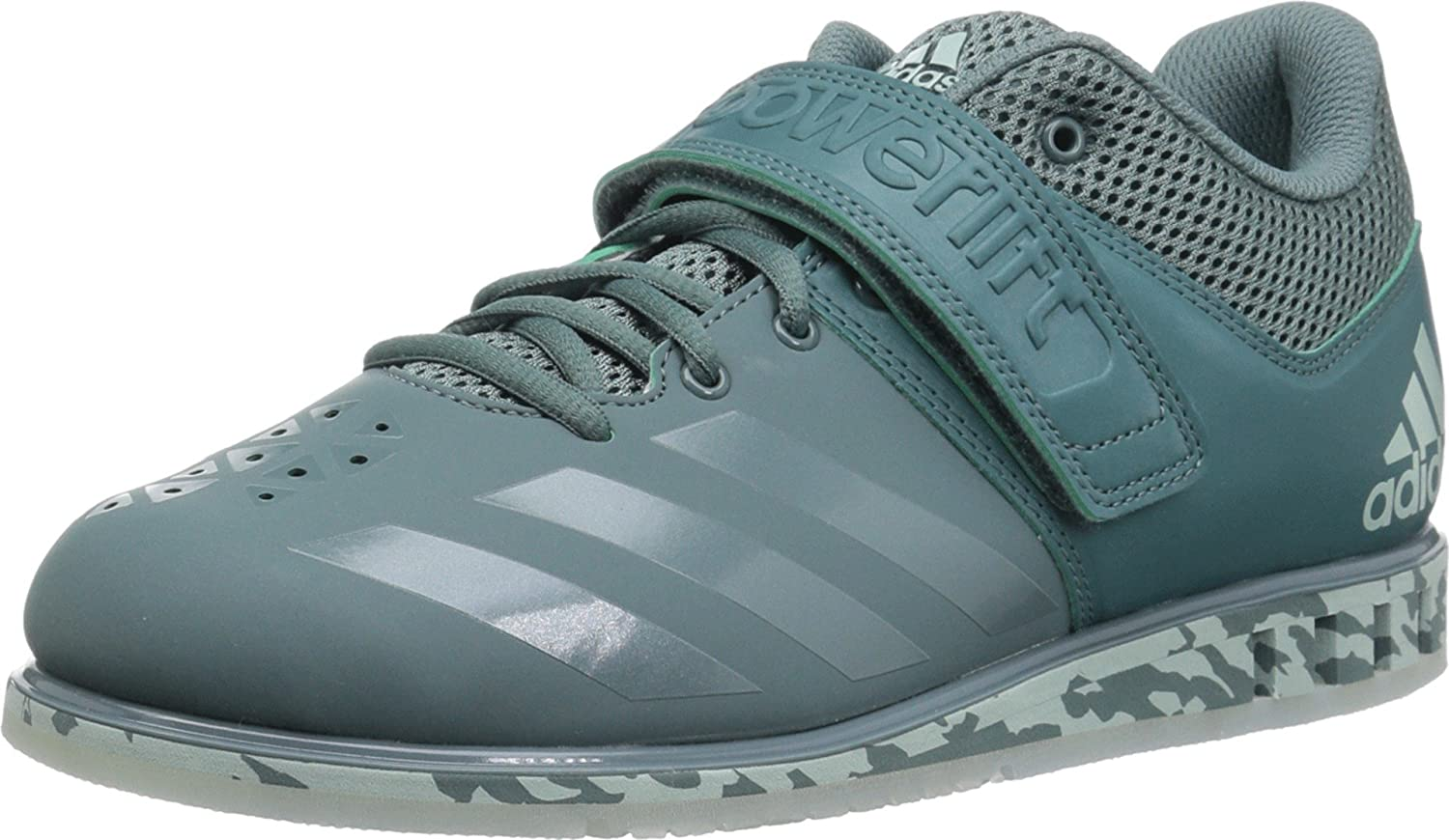 Raw Green Raw Green Ash Green 11 D(M) US adidas Powerlift.3.1 shoes Men's Weightlifting