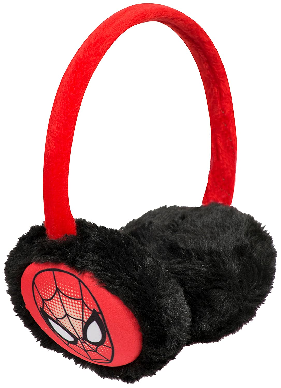 Spiderman Earmuffs Boys Childrens Winter Ear Muffs