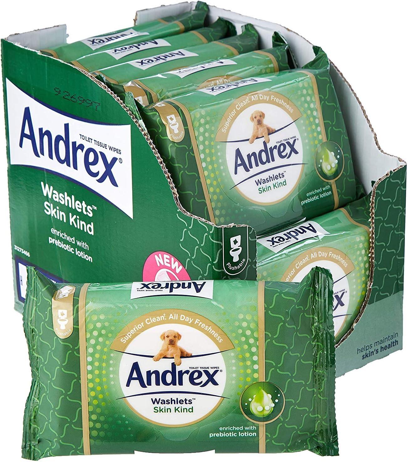 Fragrance Free Gentle Clean Toilet Tissue Wet Wipes Washlets Flushable Tissue Wipes Multi Pack