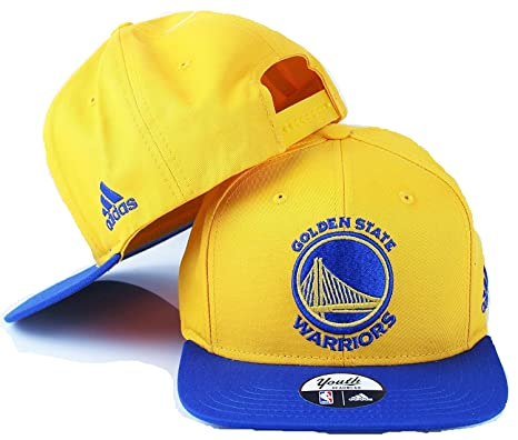 Adidas Golden State Warriors de la NBA Juventud Logotipo del Equipo Soporte  de Visera Ajustable Gorra a1cb3dac2d5