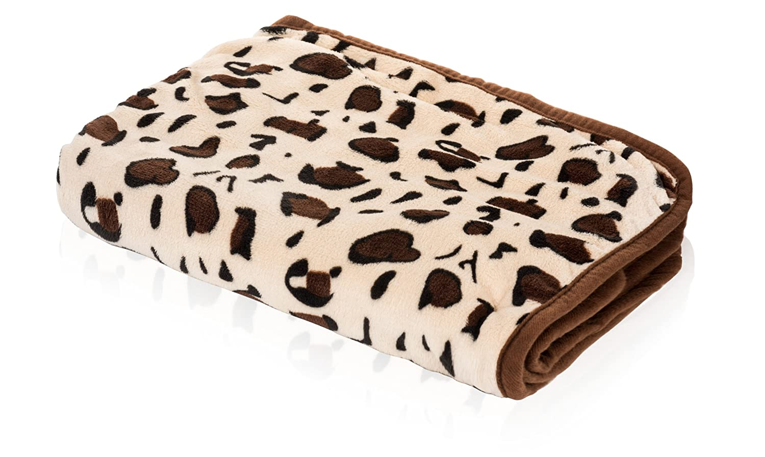 SmartPetLove Snuggle Blanket for Pets, 48 x 30, Chocolate 48 x 30 Snuggle Pet Products BLK5