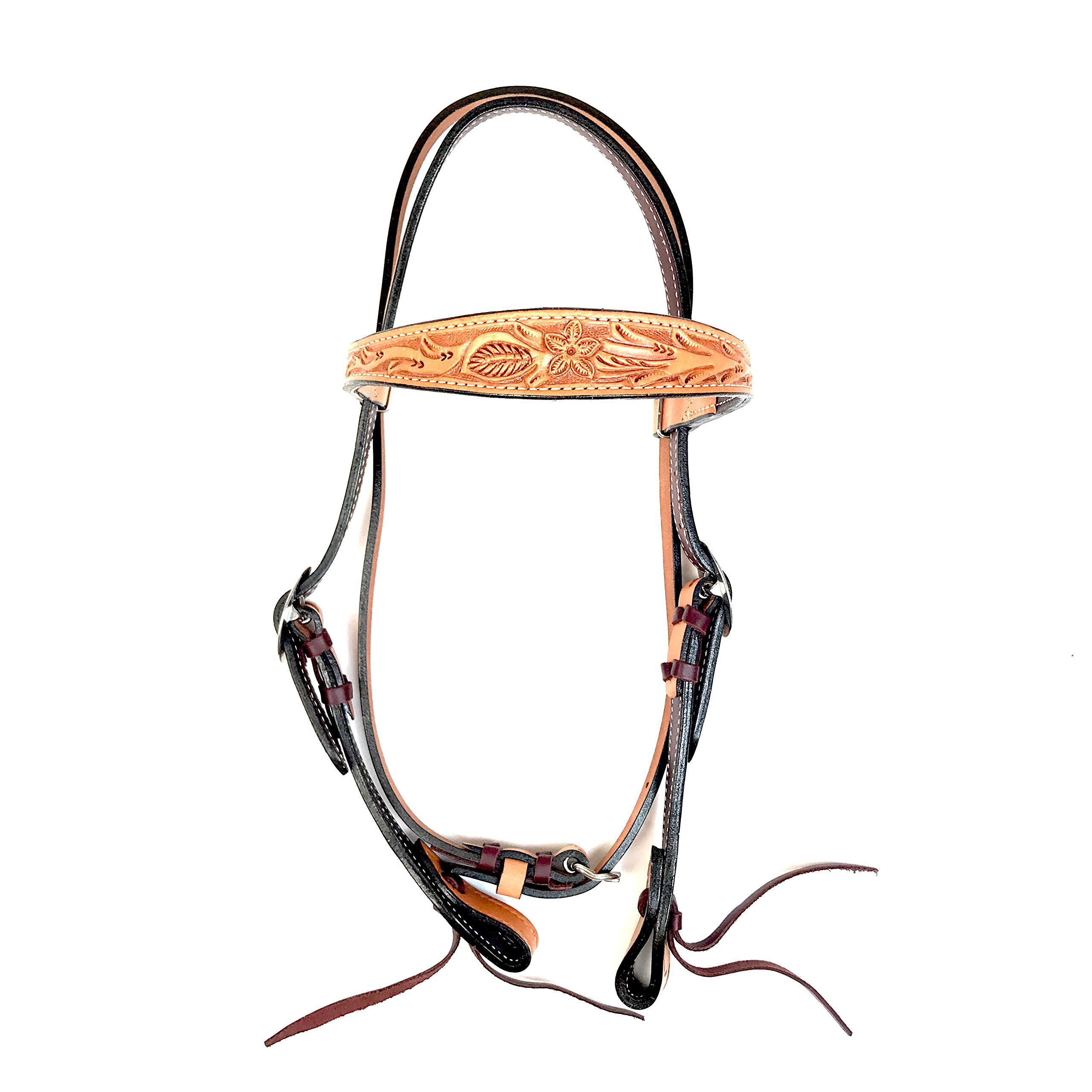 Alamo Saddlery LLC Rancher Supply- 'Old Timer Headstall'
