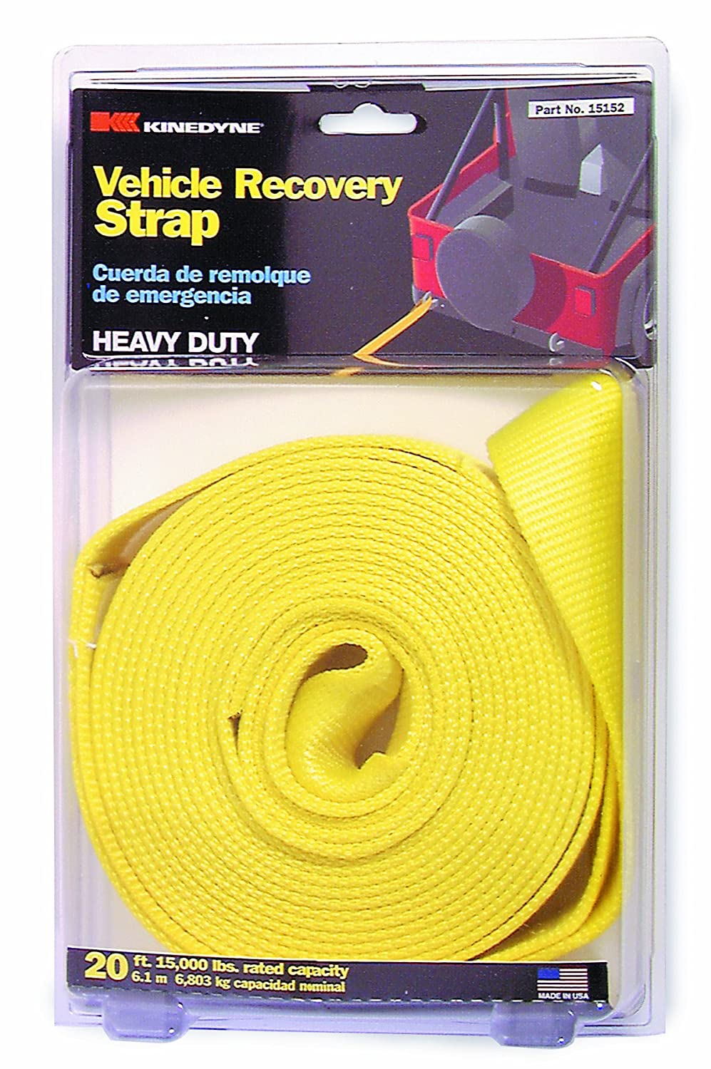 Steadymate 15520 20' Vehicle Recovery Strap
