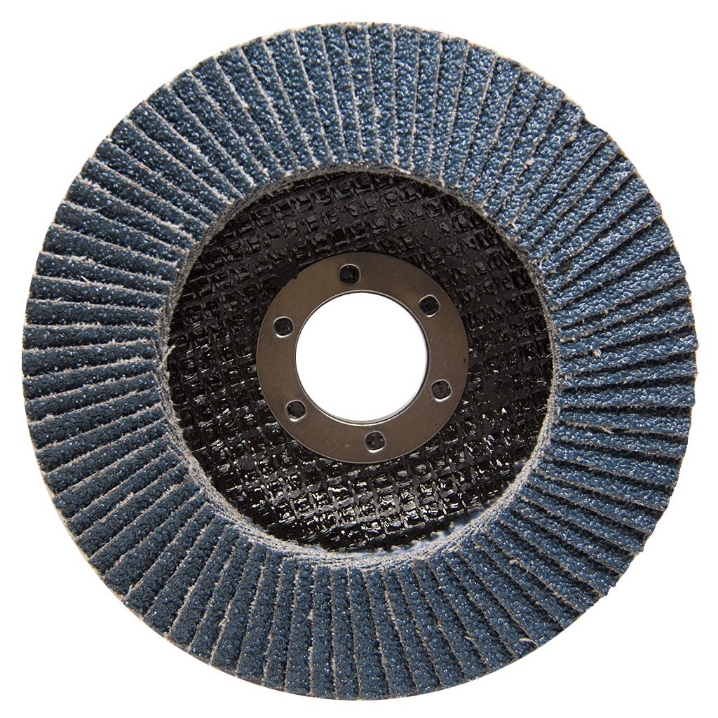 4.5'' x 7/8'' Premium High Density Jumbo Zirconia Type 29 Flap Disc 40 Grit - 10 Pack by Benchmark Abrasives (Image #5)