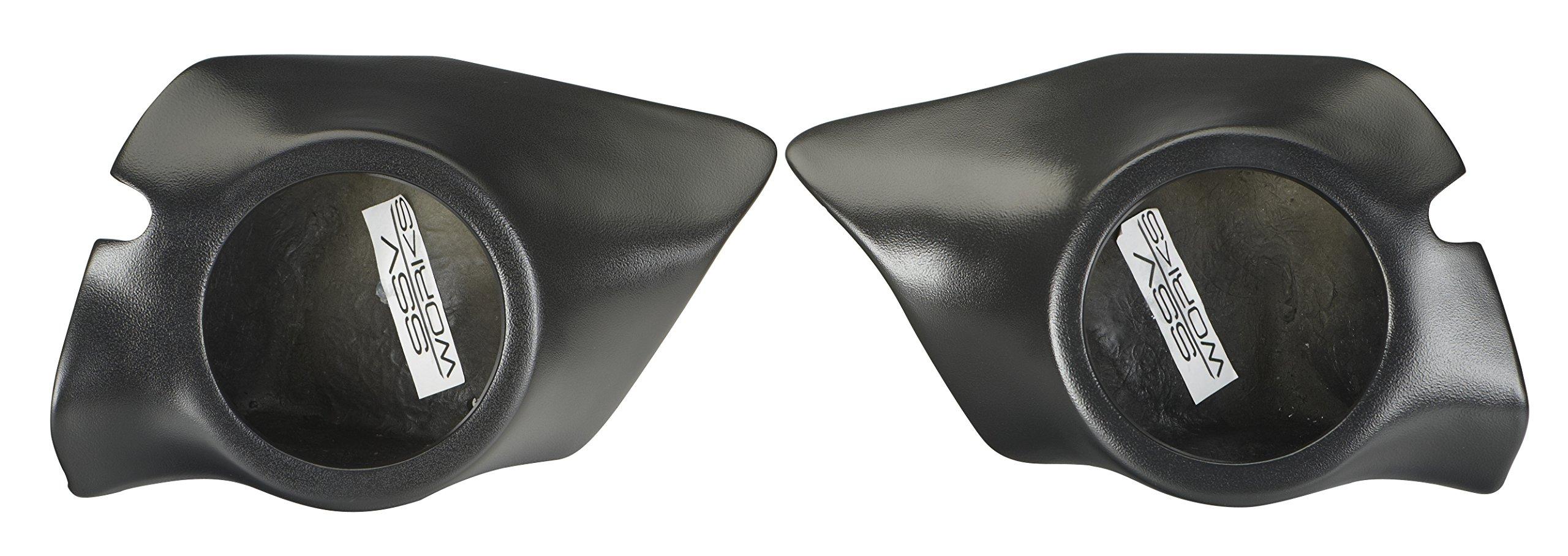 SSV 2014-2017 Polaris RZR 1000/900S/Turbo 6.5'' Speaker Pods, Front Kick Panels by SSV Works