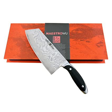 Compra Maestro WU de acero de Damasco AMA-03 de cuchillos de ...