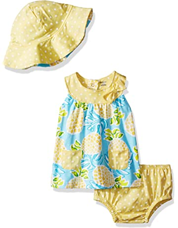 ea8e44d965 Gerber Baby Girls  3-Piece Dress Set