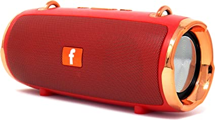 KMS-E8 Portable Bluetooth Multi-Speaker System with Carry Strap (Red)