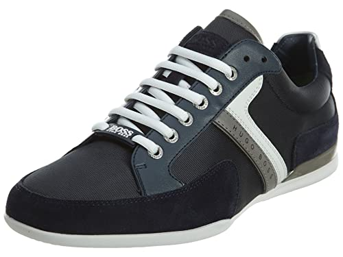 41071bd237 Hugo Boss Men s Spacit Fashion Sneaker Dark Blue 11 D(M) US: Buy Online at  Low Prices in India - Amazon.in