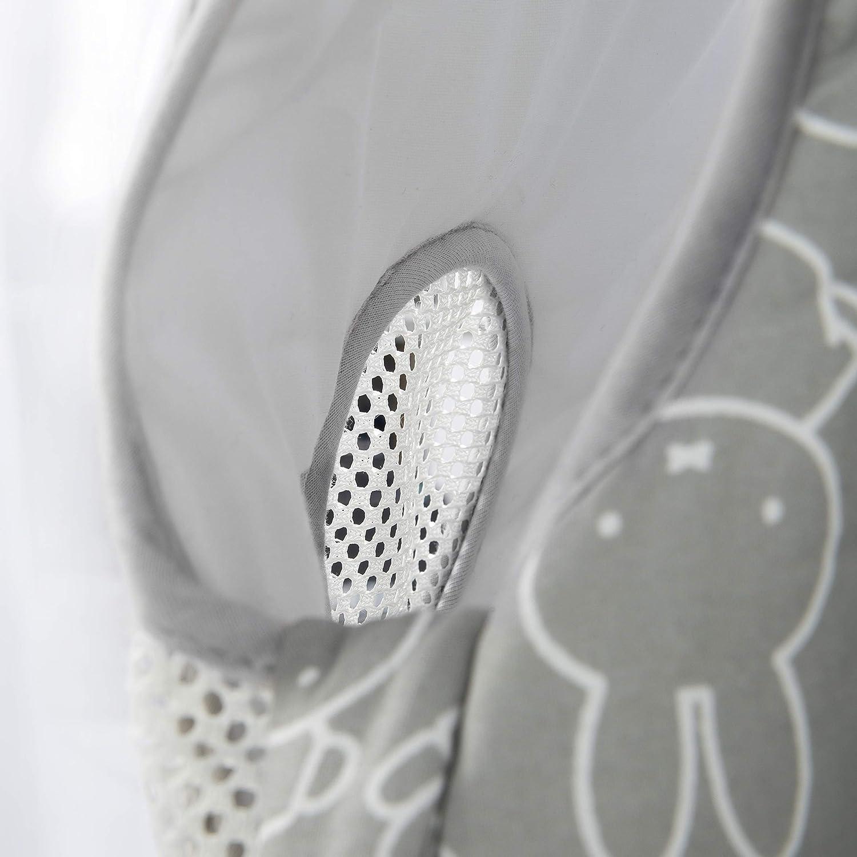 weiche F/üllung 100/% PES 100/% Baumwolle bedruckt gewebt Mesh-Eins/ätze safe asleep von roba Babyschlafsack Easy Air miffy Gr/ö/ße 56//62 cm AIR-balance System