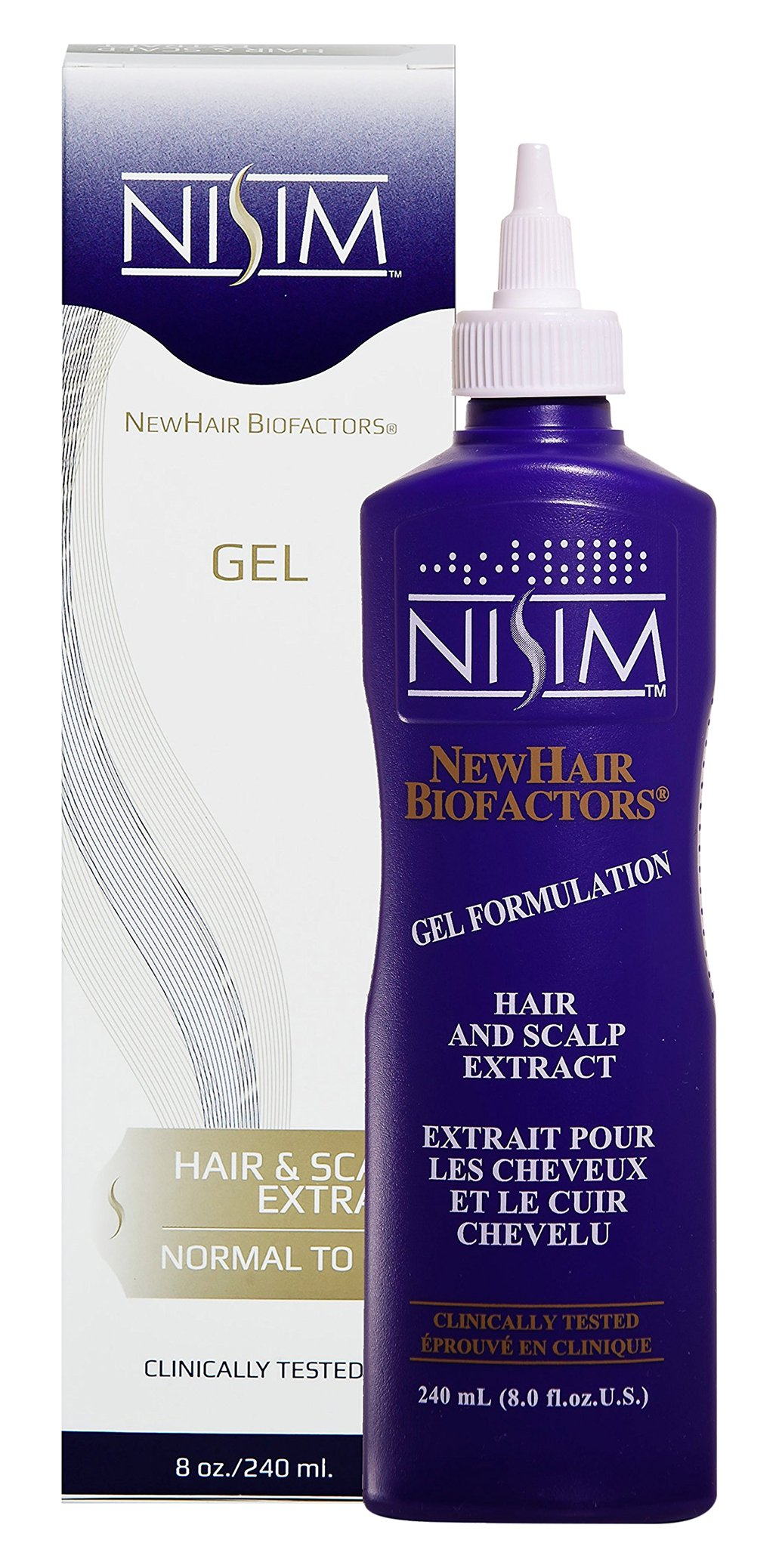 Nisim -  Hair and Scalp Gel Extract Normal to Dry  8oz