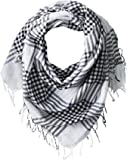 Jules Smith Women's Lightweight Nantucket Plaid Scarf with Fringe