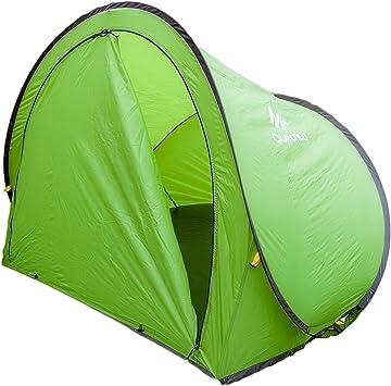 Quechua 2 Seconds XL Pop Up Camping refugio con puerta Festival playa rápida instantánea rápida pitch- verde: Amazon.es: Deportes y aire libre