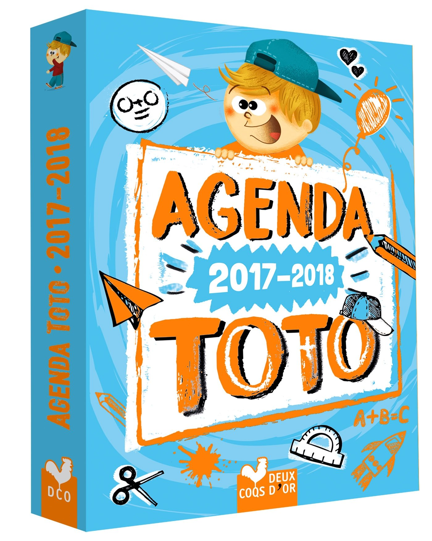 Agenda 2017-2018 Toto: 9782017028987: Amazon.com: Books