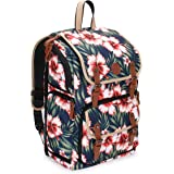 GOgroove Full-Size DSLR Photography Backpack Case (Tropical) for Camera and Laptop with 15.6 inch Laptop Space, Accessory Storage, Tripod Holder, Long-Lasting Durability and Weatherproof Rain Cover