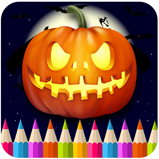 Halloween Coloring Book (Halloween Games Adults)