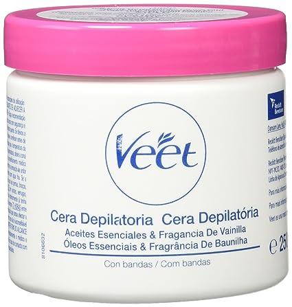 Veet Formula Oriental - Cera depilatoria con bandas, 25 cl