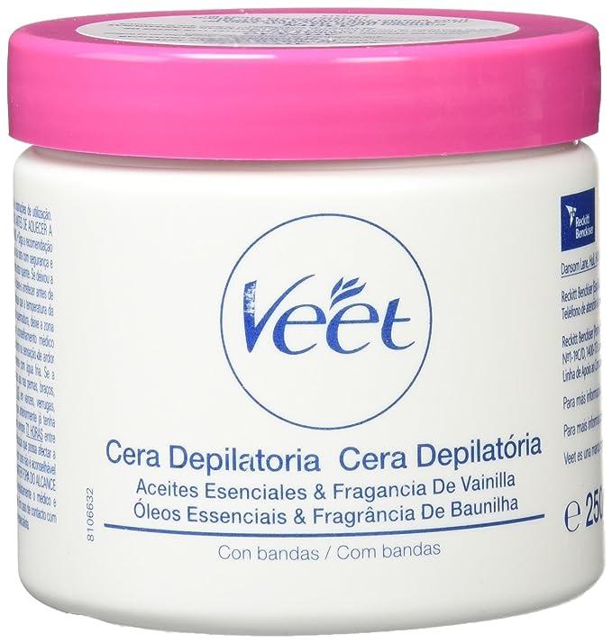 Veet Formula Oriental - Cera depilatoria con bandas, 25 cl: Amazon.es: Amazon Pantry