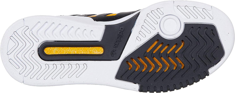 adidas Damen Drop Step W Sneaker Mehrfarbig Core Black Ftwr White Collegiate Gold Ee5227