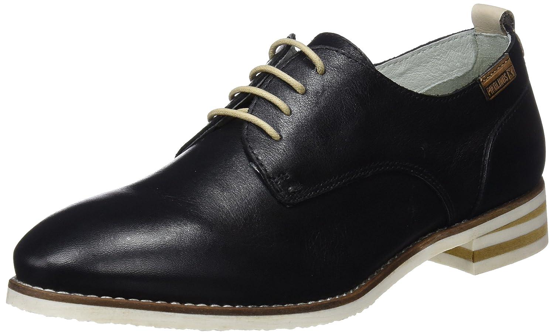 Pikolinos Royal W3s, Zapatos de Cordones Derby para Mujer 37 EU|Negro (Black)