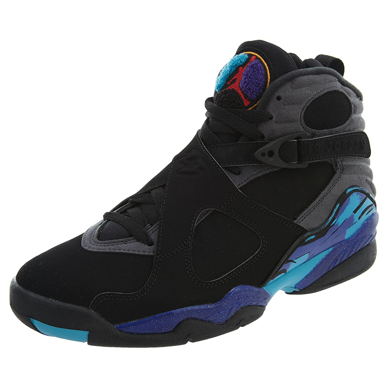 online store e3ecc 38075 NIKE NIKE Air Jordan 8 Retro Aqua - 305381 025-2015  Amazon.in  Shoes    Handbags