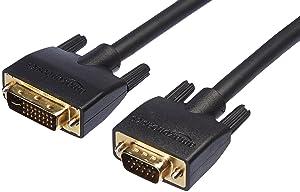 AmazonBasics DVI-I to VGA Cable - 6-Foot