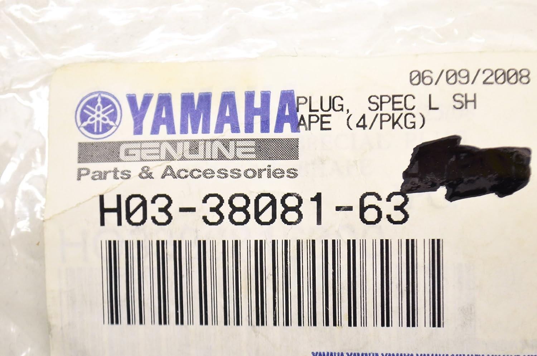 Yamaha H03-38081-63-00 Plug SpecL Shape ; H03380816300 Made by Yamaha 4//Pkg