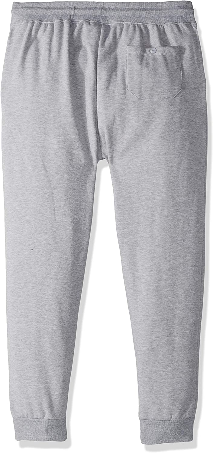 Small Heather Gray 18 Ultra Game NFL Pittsburgh Steelers Mens Jogger Pants Active Basic Fleece Sweatpants