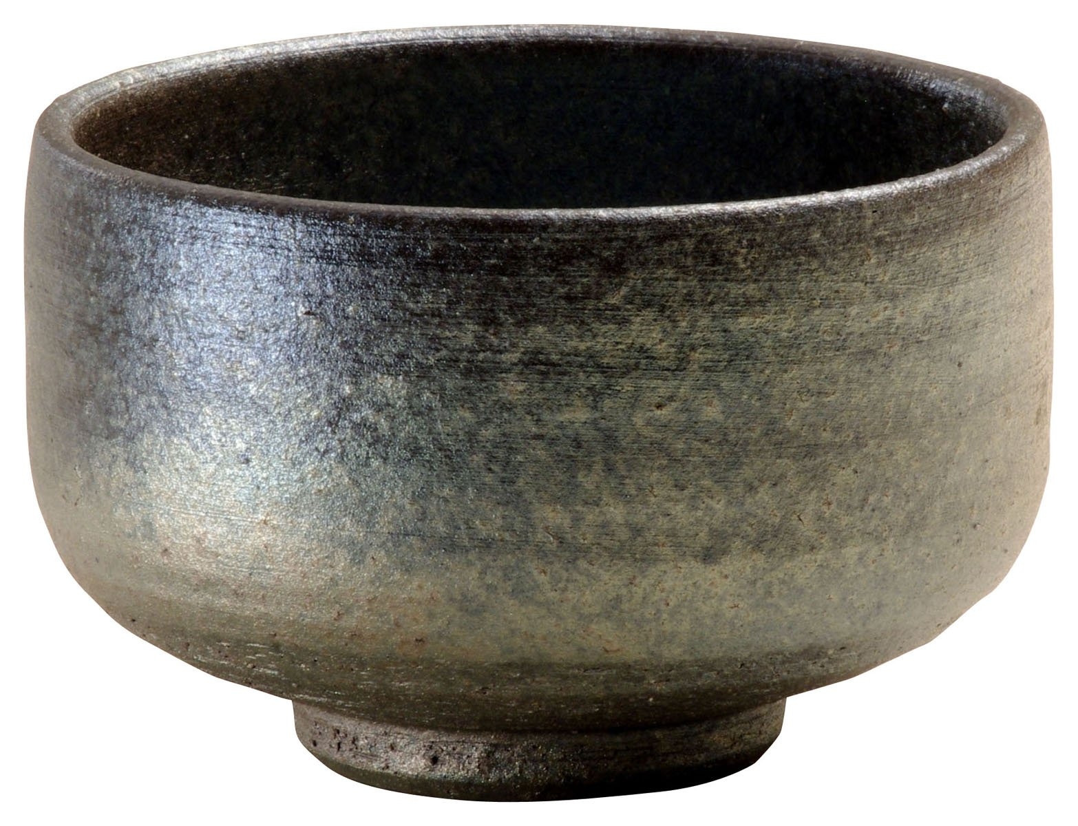 Shigaraki Ware Kiln Modulation Ibushi Matcha Bowl 3-2701(Japan Import)