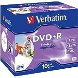 Verbatim 4,7 Gb Dvd + R / 120Min / 16X Caja De Plástico (10 Disc)