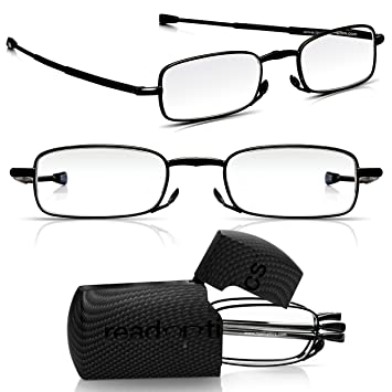 20d1d2078a Read Optics 2 Pack Folding Reading Glasses   Mini Hard Case  Mens Womens  Quality