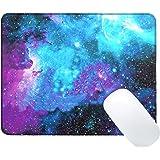 iVoler Galaxy Customized Alfombrilla de Ratón para Gaming (300x250x3mm) Impermeable Juego de Alfombrilla de Ratón Mouse Pad con Base de Goma Antideslizante,Tela,Bordes Reforzados, Compatible con Ratón láser y Óptico, Soporte para Ordenador, PC y Portátil