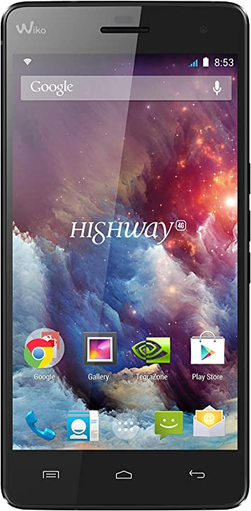 Wiko Highway 4G - Smartphone libre Android (pantalla 5