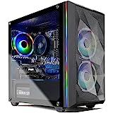 SkyTech Chronos Mini Gaming Computer PC Desktop - AMD Ryzen 5 3600 3.6 GHz, GTX 1650 4G, 500G SSD, 8G 3000, RGB Fans, AC WiFi